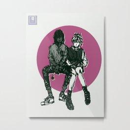 Oh, Lovers Metal Print