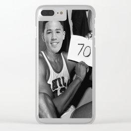 Devin Booker - 70pts vs Celtics Clear iPhone Case