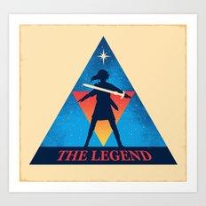 The Legend... Art Print