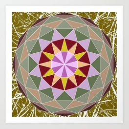 Spiny Star Art Print