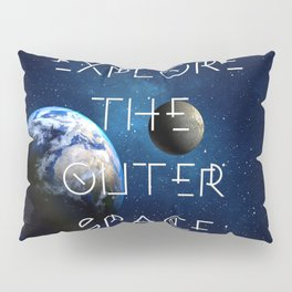 Explore the outer Space Pillow Sham