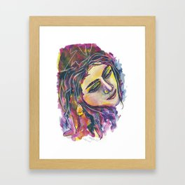 Melt in depth Framed Art Print
