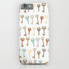 keys pattern iPhone 6s Slim Case