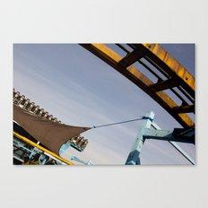 roller Canvas Print