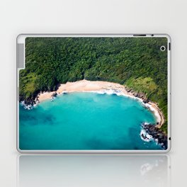 Turquoise Beach Laptop & iPad Skin