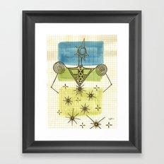 Woman_1 Framed Art Print
