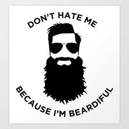 Beardiful Art Print