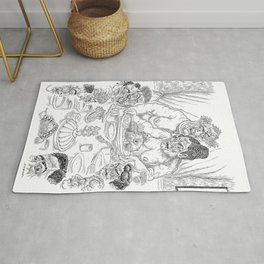 The Defamation of Normal Rockwell III (NSFW) Rug