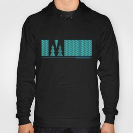 MN Logo - With Pattern Hoody