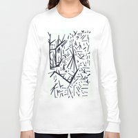 pi Long Sleeve T-shirts featuring pi by Ana Vânia Fonseca