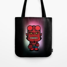 Devil Boy Tote Bag