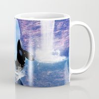 orca Mugs featuring Orca  by nicky2342