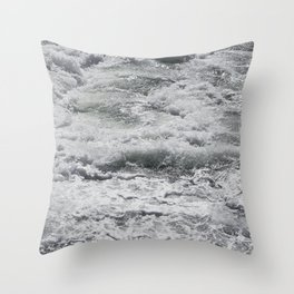 Salty Milkshake Throw Pillow