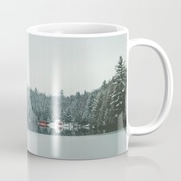 Frozen Lake in Canada Coffee Mug
