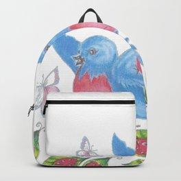Bluebird Garden Backpack