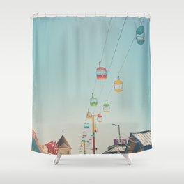 skyglider II Shower Curtain
