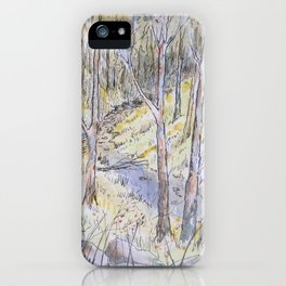 Gully shade iPhone Case
