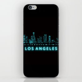 Digital Cityscape: Los Angeles, California iPhone Skin