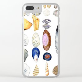 Beach Treasures Clear iPhone Case