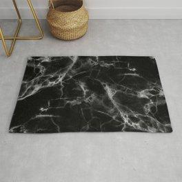 Black & White Marble Rug