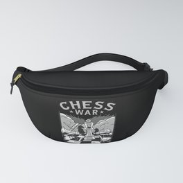 Chess War Chess Player Gift Chessboard Fanny Pack