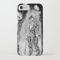indiana jones iPhone & iPod Cases featuring Indiana Jones and the Temple of Doom by Meredith Mackworth-Praed