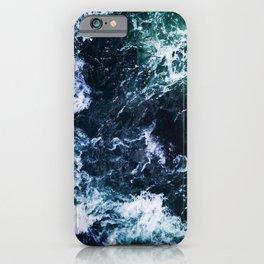 Wild ocean waves iPhone Case