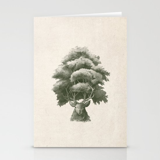 Old Growth  Stationery Cards