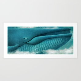 The Great Whale Art Print