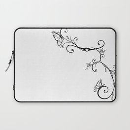Butterfly Vines Laptop Sleeve