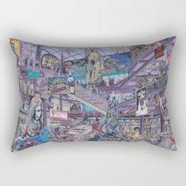 The Mall Rectangular Pillow