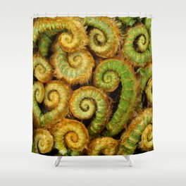 Ferns In The Woodland Grove... Shower Curtain