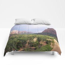 Escape To Zion Comforters