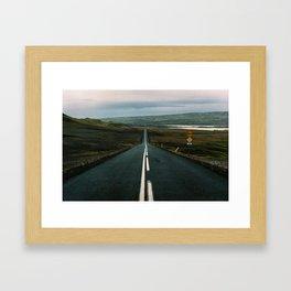 Iceland - Roadtrip (Leica M3 & Kodak film) Framed Art Print