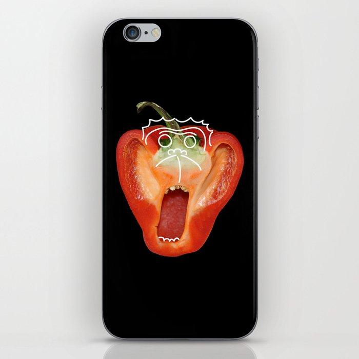 Monkey Face iPhone Skin