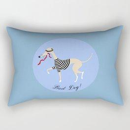 Bad Dog Rectangular Pillow