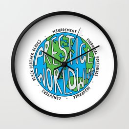 Step Brothers | Prestige Worldwide Enterprise | The First Word In Entertainment | Original Design Wall Clock