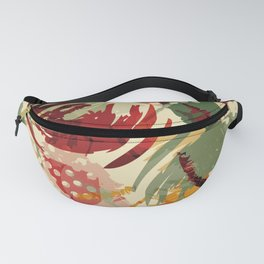 Abstract Holidays 2 Fanny Pack