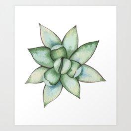 Abstract Cactus Art Print