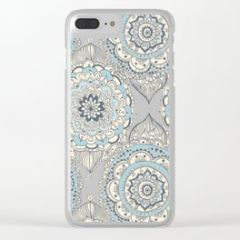 Modern Farmhouse Moroccan Clear iPhone Case