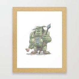 Moblin Framed Art Print