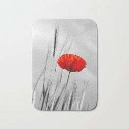 Poppy Red 070 Bath Mat