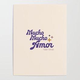 Mucho mucho amor Poster