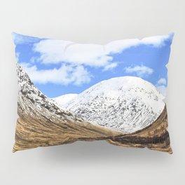 Spring in Glen Etive, Scottish highlands Pillow Sham