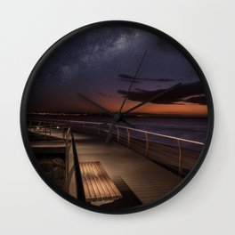 Best seat to watch our universe Wall Clock