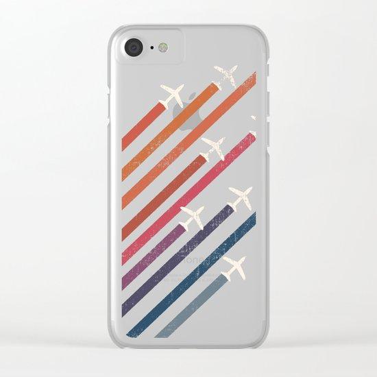 Aerial acrobat Clear iPhone Case