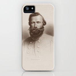 JEB Stuart Engraved Portrait iPhone Case