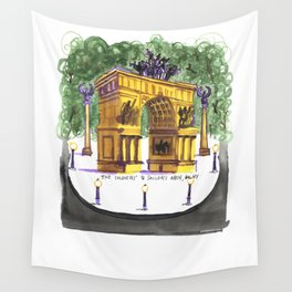 Soldiers and Sailors Arch Wall Tapestry