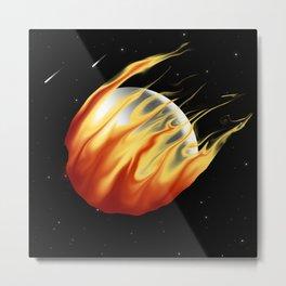 Fireball! Metal Print