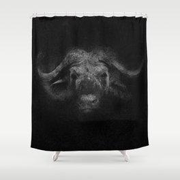 Sacred Bufalo Bull Shower Curtain
